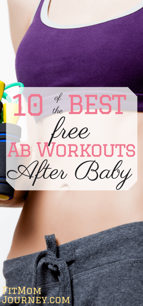 Abs are hard to come by - especially post baby. But, with some strategic ab workouts after baby you can get the abs you've always dreamed of.