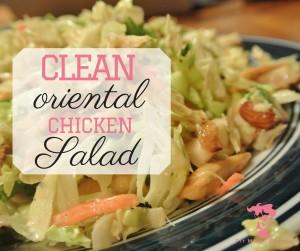 Clean Oriental Chicken Salad FB