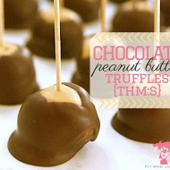 THM Chocolate Peanut Butter Truffles {THM:S}