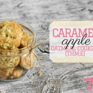THM E Oatmeal Cookies {Caramel Apple Oatmeal Cookies}