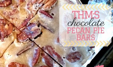 THM Pecan Pie Bars {THM:S}