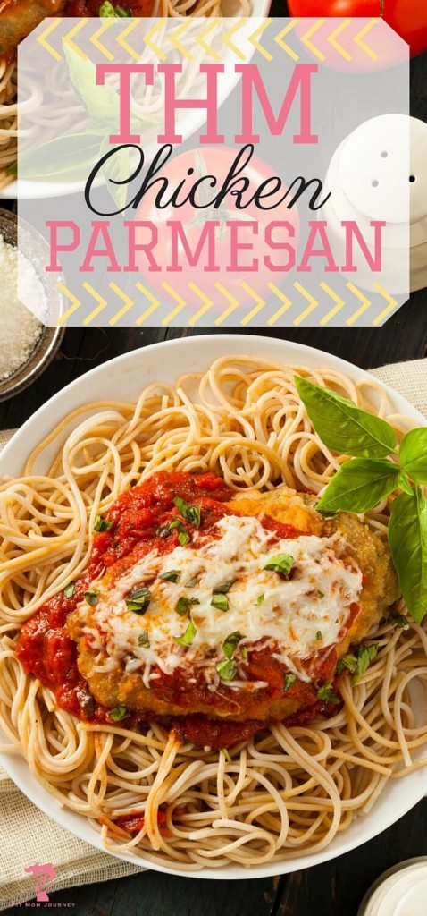 Sinfully delicious chicken parmesan with a healthy twist?  Yes!  Make this THM chicken parmesan today!