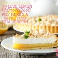 Love Lemon Meringue Pie?  Here's A Satisfying THM Version
