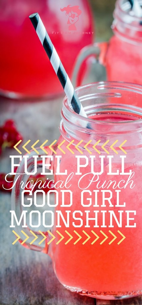 Check that craving for a fruity drink and try this Trim Healthy Mama Tropical Punch Good Girl Moonshine - you won't be disappointed!