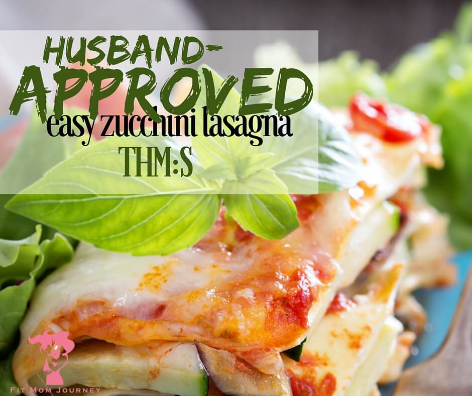 "If you're in the mood for a delightful S lasagna, or have been struggling to get your family on board with ""no noodle"" noodles, give this husband-approved easy zucchini lasagna a try! Trust me, you won't be disappointed!"