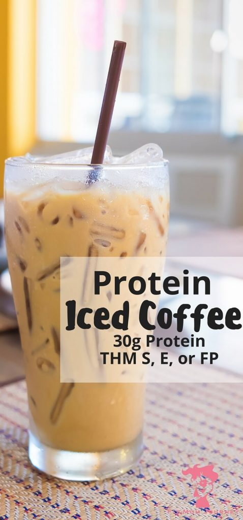 What could be better than a refreshing iced coffee that packs a 30g punch of protein + powerhouse collagen - without changing the taste? This Iced Protein Coffee is THM S, E, or FP or doesn't disappoint!