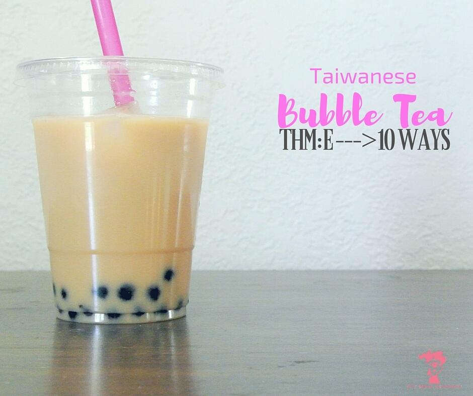 Bubble Tea, 10 Trim Healthy Mama Ways