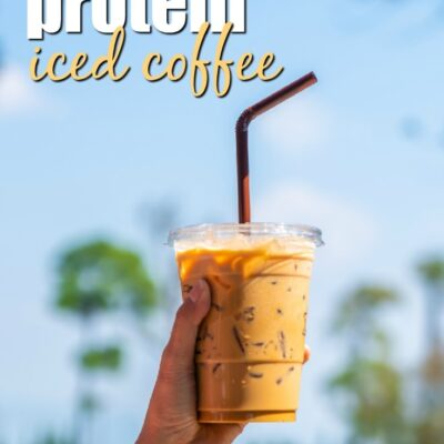 30g Iced Protein Coffee: THM:S, E, or FP