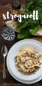This chicken mushroom stroganoff is probably one of the easiest recipes I've ever made - and it's on plan! Juicy mushrooms, tender chicken, and a sauce that's to die for