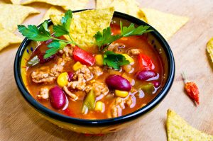Leftover chicken be warned: you're not going to waste any more with this Trim Healthy Mama Chicken Chili recipe! It's THM:E, but still hearty and filling - a recipe you'll want to make over and over again!