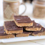 Chocolate Peanut Butter Bars THM:S