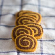 Trim Healthy Mama Chocolate Pinwheel Cookies THM:S