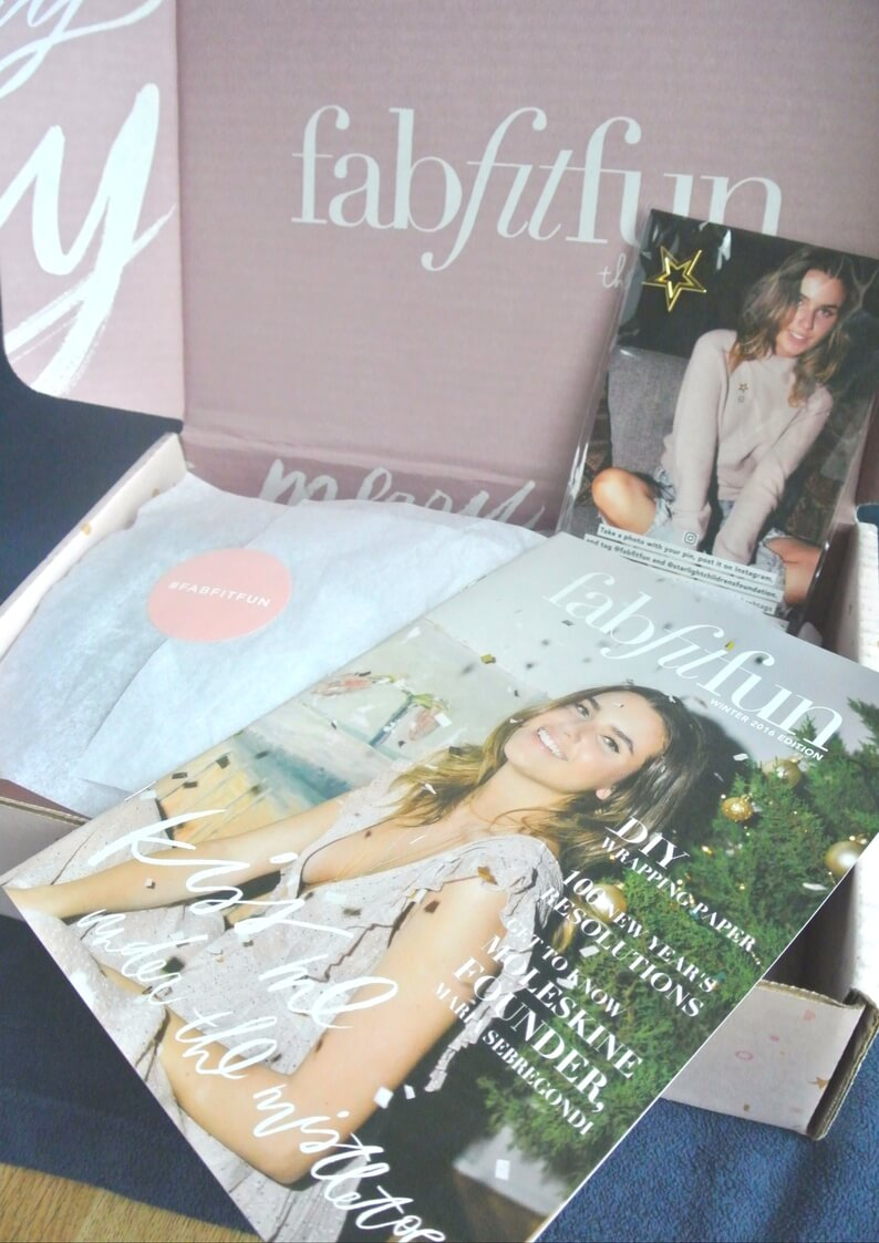 FabFitFun Winter 2016 Unboxing + $10 Off Coupon Code! - Fit Mom Journey