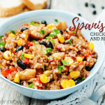 Slow Cooker Spanish Chicken and Rice (THM:E)