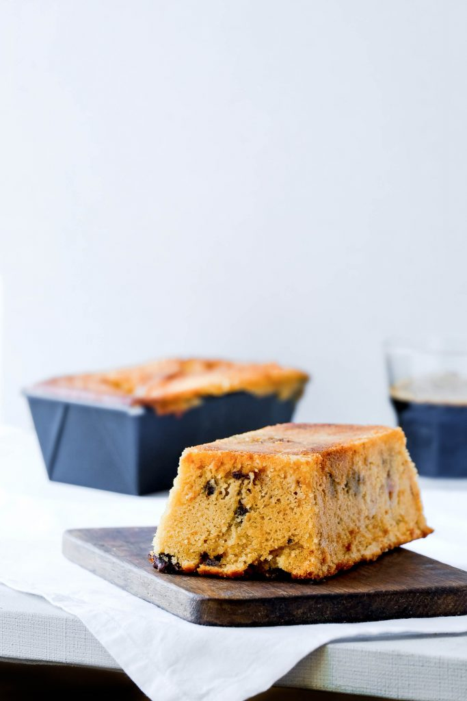 This Trim Healthy Mama Chocolate Chip Pound Cake with Caramel Drizzle is a THM:S, and will satisfy your every craving! Plus, it's easy to make!