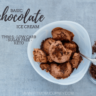Basic Trim Healthy Mama Chocolate Ice Cream (THM:S)