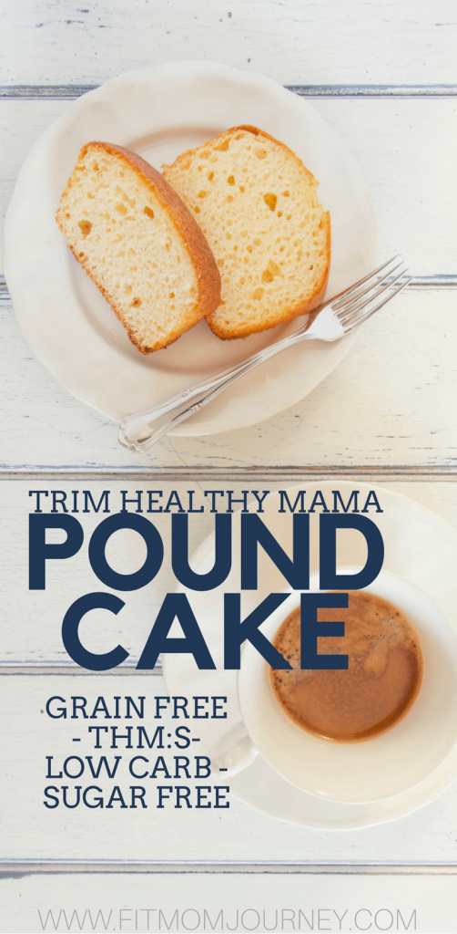 Trim Healthy Mama Pound Cake has tons of uses, from strawberry shortcake, to bread putting and beyond. Plus, it's grain free, keto, sugar free, low carb, and more!