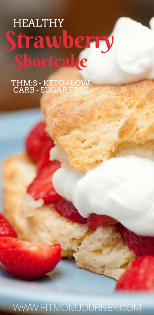 My Trim Healthy Mama Strawberry Shortcake is a classic and sure to become a regular in your meal plan rotation It's THM:S, sugar free, low carb, and ketogenic
