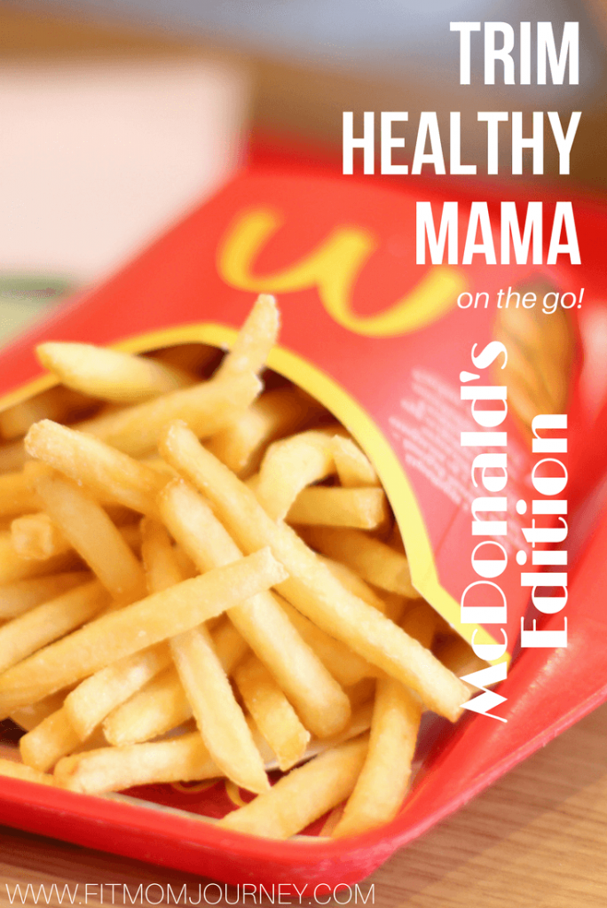 Wondering how to do healthy eating at McDonald's that is Trim Healthy Mama compliant? Learn how to build your meal and gt specific examples of Trim Healthy Mama at McDonald's. Healthy eating at McDonald's!