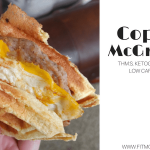 Craving a Low Carb, Ketogenic, THM:S McGriddle? Try my Copycat McGriddles recipe for an easy, tasty alternative to satisfy your craving.