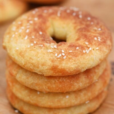 Fathead Bagels (Low Carb, Ketogenic, Grain Free, THM:S)