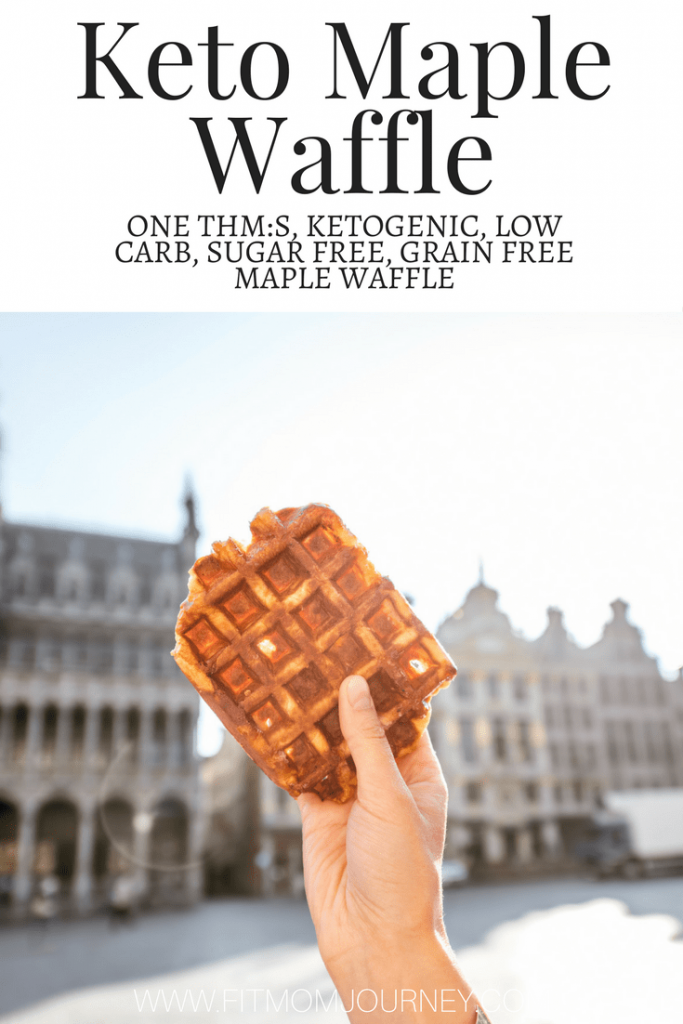 Ready for a waffle that tastes like fall feels? Try this Single Serve Maple Keto Waffle Recipe - and then pair it with my Keto McGriddle Recipes for a great combination!