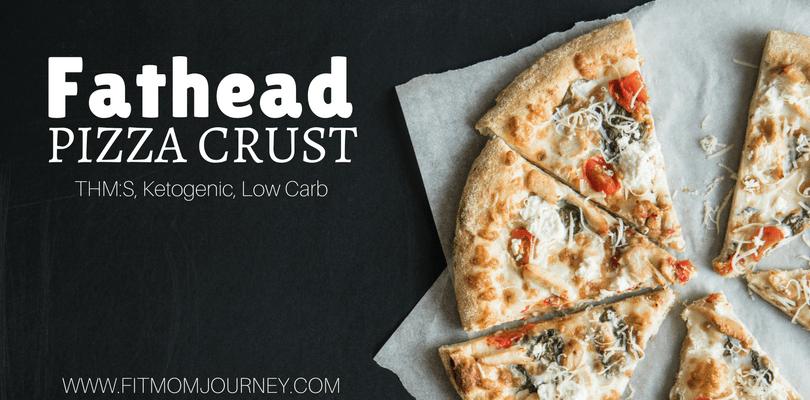 Fathead Pizza Crust (Ketogenic, THM:S, Grain Free, Low Carb)