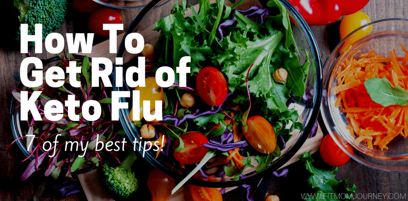 You just started Keto and you feel like crap. Congrats, you have Keto Flu! Here's how to get rid of Keto Flu in 6 easy steps.