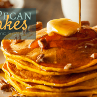 Maple Pecan Pancakes (THM:S, Ketogenic, Low Carb, Grain Free)