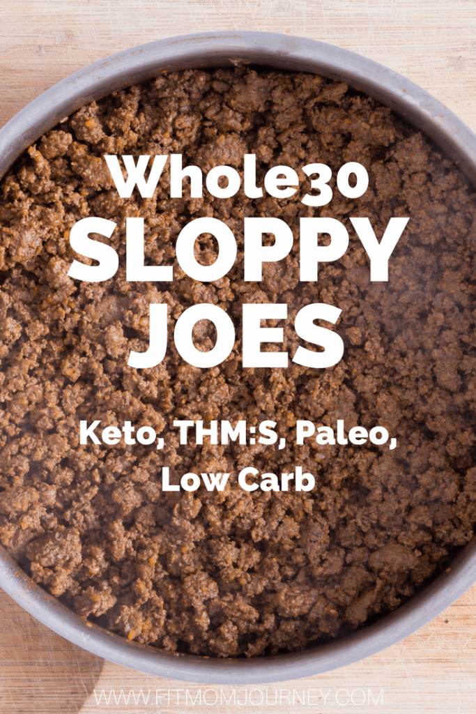 Cozy up to this classic comfort food: Whole30 Sloppy Joes. Serve these Whole30 Sloppy Joes over cauliflower rice, zoodles, or potatoes for a meal even husbands will approve of!