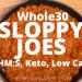 InstantPot Whole30 Sloppy Joes