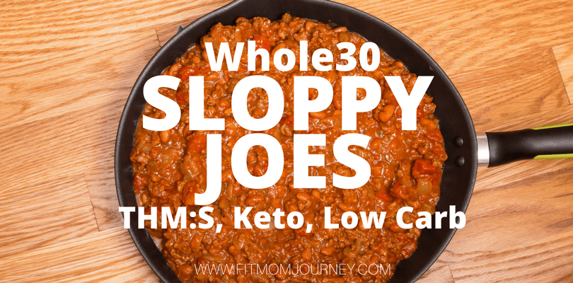 InstantPot Whole30 Sloppy Joes