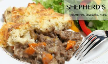 Keto InstantPot Shepherd's Pie