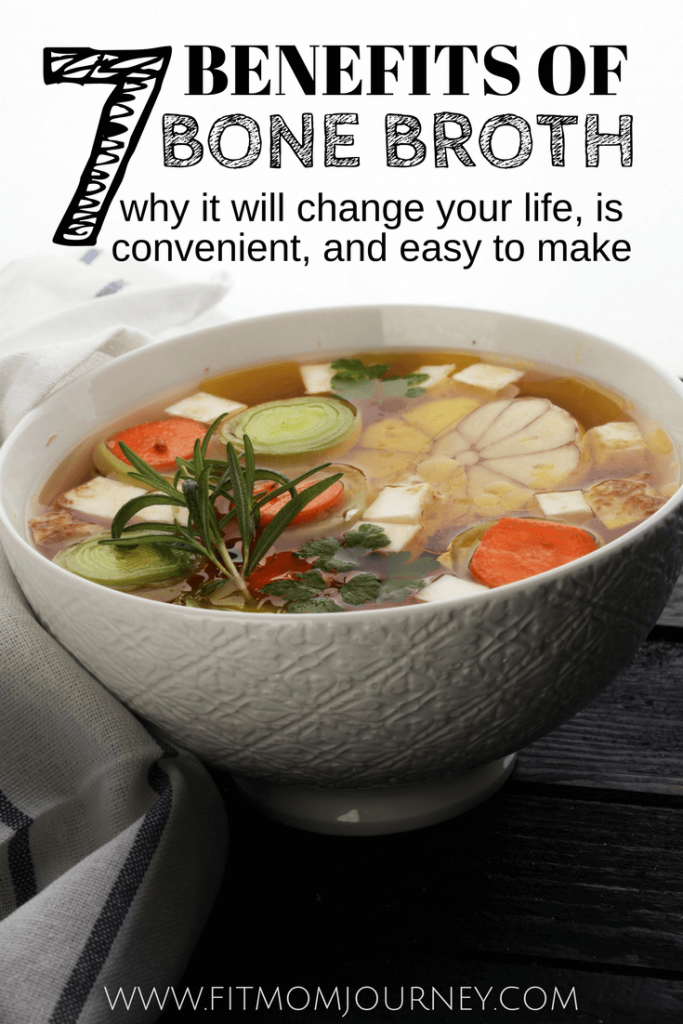 Wondering what health benefits you can get from bone broth soup? Here are 7 benefits of bone broth soup, why it will change your life, and creative ideas for getting more of it into you diet!