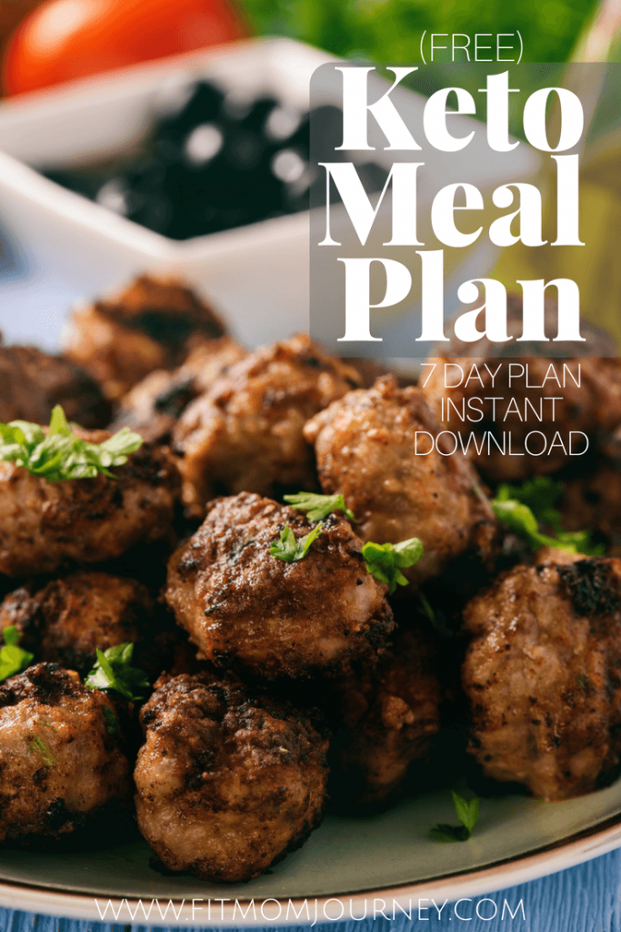 Download a free Keto Meal Plan today! This plan includes the meals, recipes, and even a categorized shopping list - all free for download!