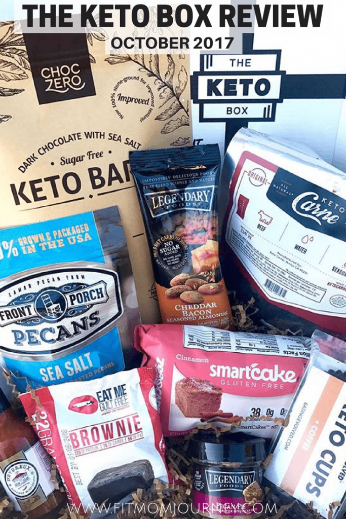 It's time again for this month's The Keto Box Review for October 2017.  The Keto Box crew managed to pull off another fantastic box!