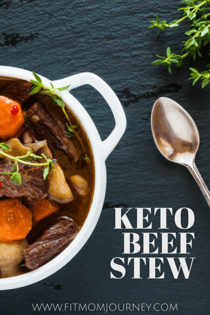 This Keto Beef Stew isn't just any old soup.  It's a powerhouse filled with healthy ingredients like bone broth, radishes, grass-fed beef, and carrots.