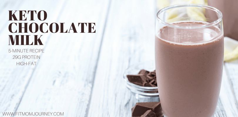 Keto Chocolate Milk When I was pregnant, I just couldn't get enough chocolate milk. Sure, I liked it before, but something about pregnancy that made me crave it so much I would go through a couple gallons a week. No kidding. Now that I'm Keto, Chocolate Milk is something I really wanted to replace.