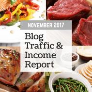 November 2017 Traffic & Income Report
