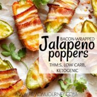 Bacon Wrapped Jalapeno Poppers THM:S