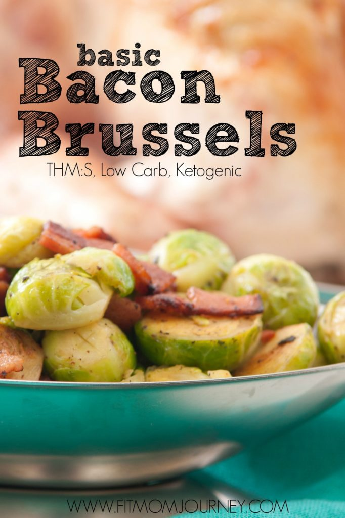 This recipe is for anyone who says they don't like brussel sprouts! I've been there too, but these super simple Basic Bacon and Brussel sprouts changed my mind!