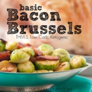 Basic Bacon & Brussel Sprouts