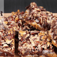 Keto 7-Layer Bars (THM:S, Ketogenic, Low Carb)
