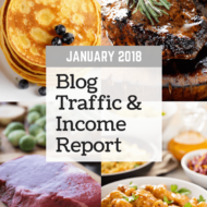 January 2018 Blog Traffic & Income Report