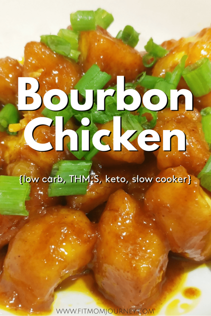 This slow cooker Keto Bourbon Chicken tastes just as good as your remember - and is even easier to make! My version tastes great, but is gluten free, low carb, ketogenic and a THM:S!