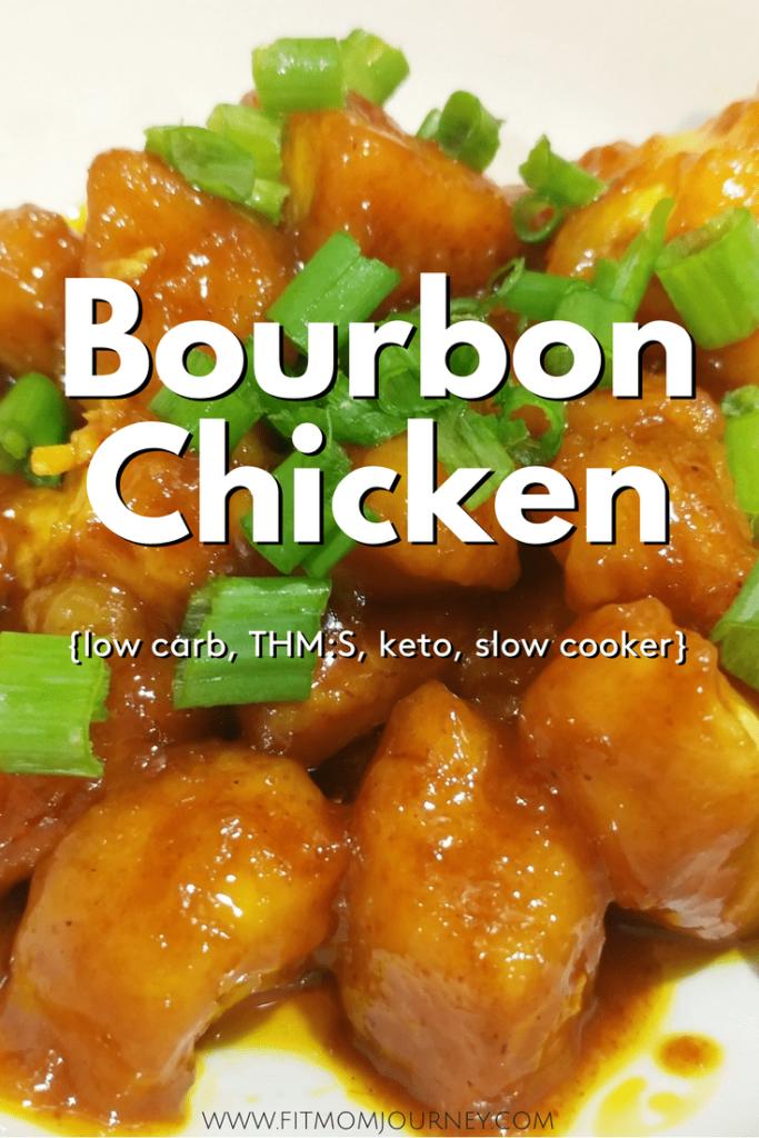 Keto Bourbon Chicken Fit Mom Journey