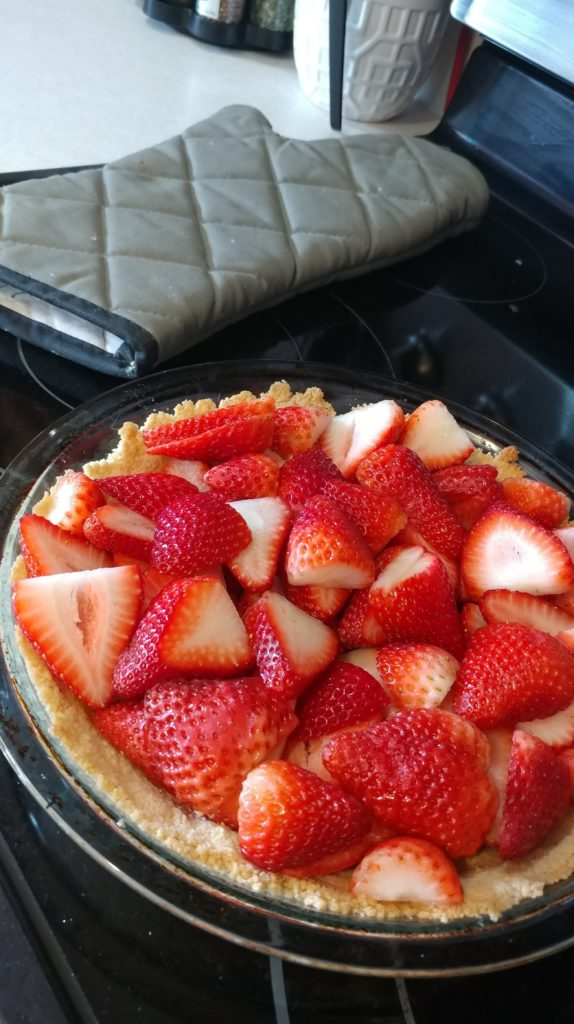 Enjoy this Sugar Free Strawberry Pie anytime you're craving a sweet and fruity taste of summer! My Sugar Free Strawberry Pie is a THM:S fuel, Ketogenic, Low Carb, and Grain free.