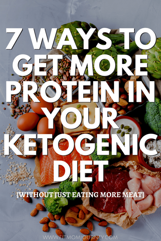 Don't want to eat more meat? Here are 7 Ways to get more protein in your diet in creative, fun, and tasty way - all on the Ketogenic diet.
