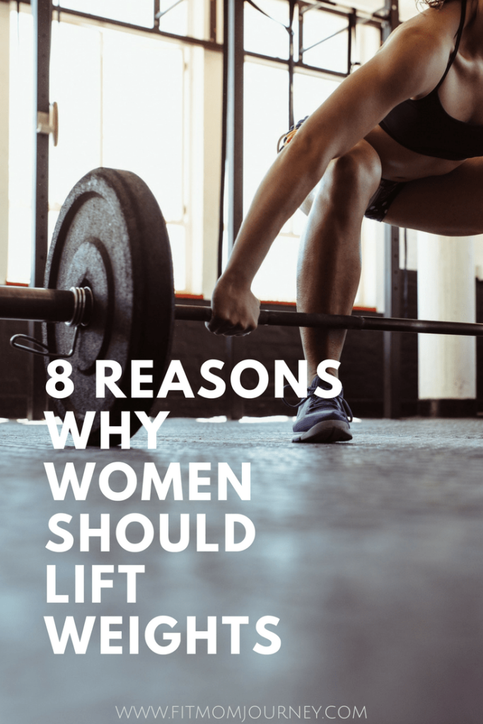 89bb45e1ae8 Lifting weights is one of the best things a woman can do for her fitness and