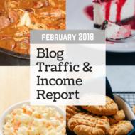 February 2018 Blog Traffic & Income Report